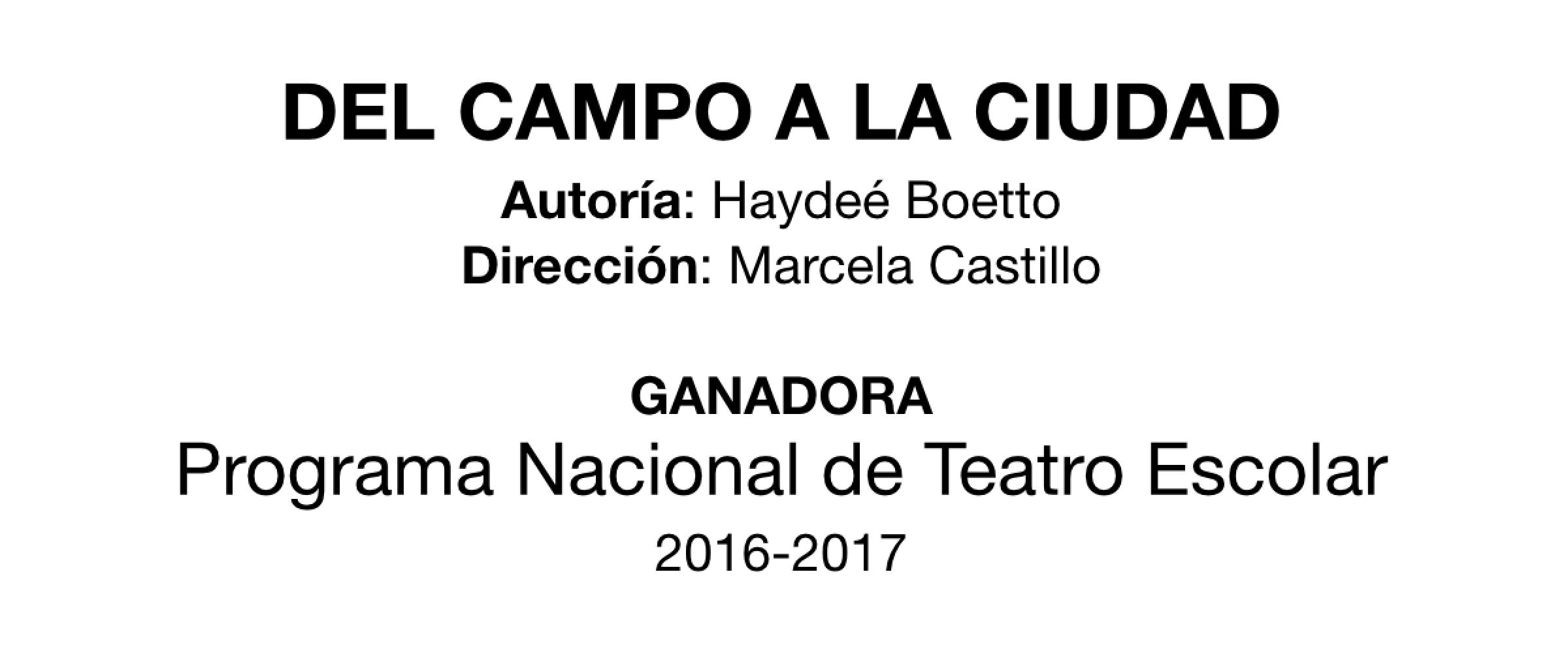 Banner Ganadora Teatro Escolar 2016-2017